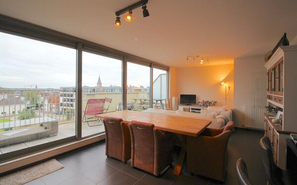 Penthouse for rent in Aalter